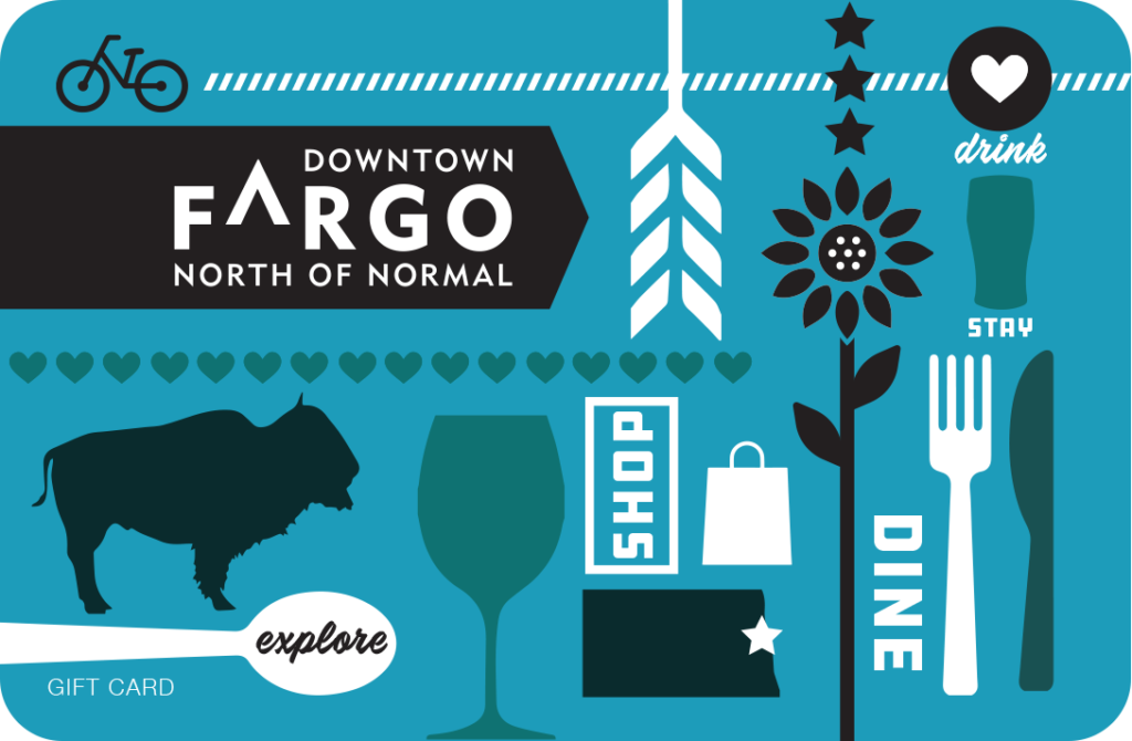 Downtown Fargo gift card